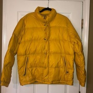 American Eagle Mustard Yellow Winter Jacket